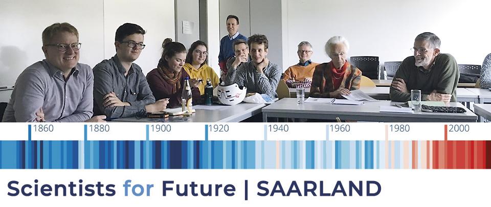 Wissenschaftler aus dem Saarland haben die Initiative Scientists for Future Saarland gegründet, um wissenschaftliche Informationsarbeit über die drohende Klimakatastrophe zu leisten.