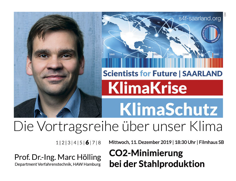 Prof. Dr.-Ing. Marc Hölling: CO2-Minimierung bei der Stahlproduktion