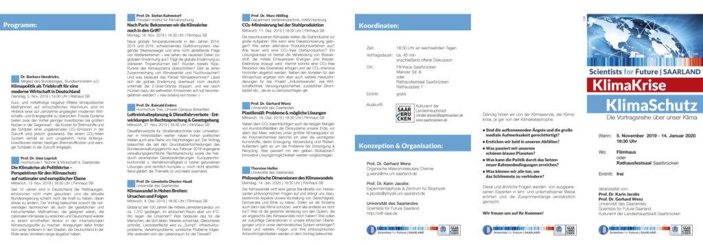 S4F | Ringvorlesung 2019 Programm-Flyer (PDF)